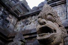 Lever de soleil de Borobudur, Java, Indonésie Photographie stock libre de droits
