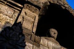 Lever de soleil de Borobudur, Java, Indonésie Photo stock