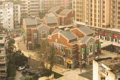 Lever de soleil de Chengdu Photo libre de droits