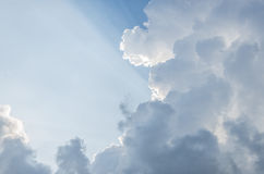 Lever de soleil de ciel fantastique Photos stock