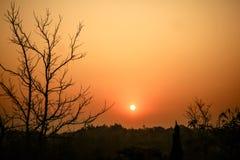 Lever de soleil de début de la matinée Images libres de droits