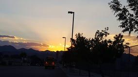 Lever de soleil de début de la matinée Photographie stock libre de droits