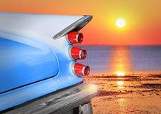 Lever de soleil de Desoto Image libre de droits
