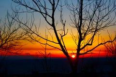 Lever de soleil de Duluth Photo stock