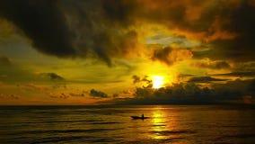 Lever de soleil 06 de Dumaguete clips vidéos