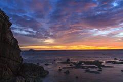Lever de soleil de Fijian Image libre de droits