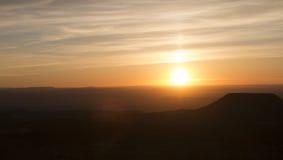 Lever de soleil de gorge grande Photographie stock libre de droits