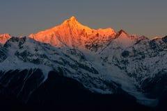 lever de soleil de jokul photo libre de droits