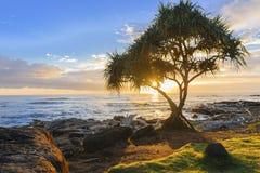 Lever de soleil 2 de Kauai Photo stock