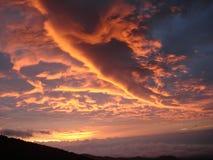 Lever de soleil de Kilimanjaro Photos libres de droits
