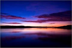 lever de soleil de kimberley Photographie stock