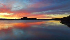 Lever de soleil de Koolewong, Australie photos libres de droits