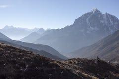 Lever de soleil de l'Himalaya Images libres de droits
