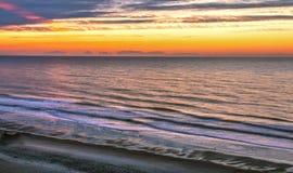 Lever de soleil de la Caroline du Sud Photo libre de droits
