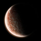 Lever de soleil de la terre - exploration d'univers illustration libre de droits