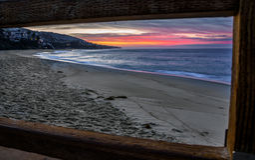 Lever de soleil de Laguna Beach Image libre de droits