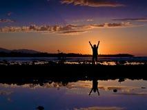 Lever de soleil de libre du Cuba Image libre de droits