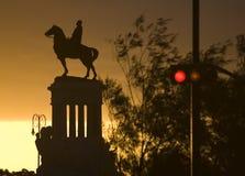 Lever de soleil de Malecon Images libres de droits