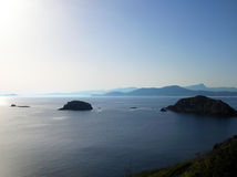 Lever de soleil de mer Photo stock
