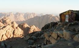 lever de soleil de mt Sinai image stock