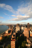 Lever de soleil de New York Photo stock
