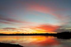 Lever de soleil de paysage marin photo libre de droits