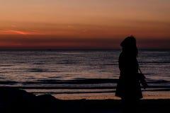 Lever de soleil de photographe Photographie stock libre de droits