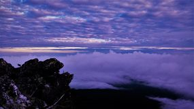 Lever de soleil de Pilchuck photographie stock libre de droits