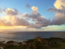 Lever de soleil de Poipu Photos stock