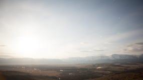 Lever de soleil de ressort à la nature dans un bel emplacement Taymlaps banque de vidéos