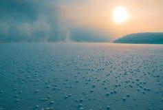 Lever de soleil de Saiberia Images libres de droits