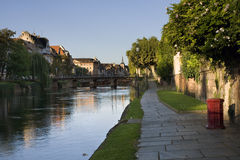 Lever de soleil de Strasbourg Photo libre de droits