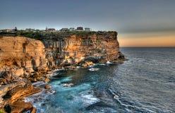 Lever de soleil de Sydney Photos stock