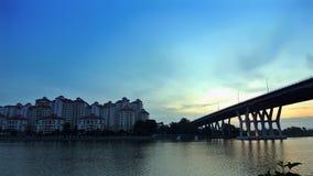 Lever de soleil de Tanjung Rhu Images libres de droits