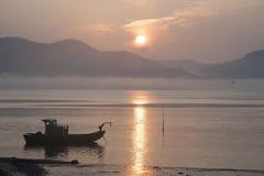 Lever de soleil de Tillamook, Orégon Photographie stock