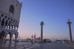 Lever de soleil de Venise Photo libre de droits