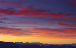 Lever de soleil de Washoe Photographie stock