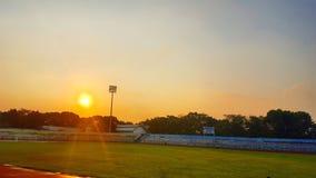 lever de soleil de wijayakusuma Image stock