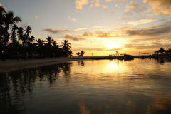 Lever de soleil Dominicana Photos libres de droits