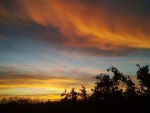 Lever de soleil dramatique 20 Images stock