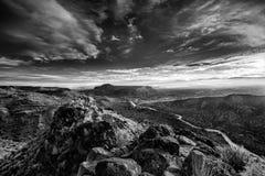 Lever de soleil du Nouveau Mexique au-dessus de Rio Grande River Photos libres de droits