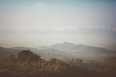 Lever de soleil en île Image stock