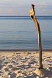 Lever de soleil en île phangan de baie de la Thaïlande de kho Photographie stock