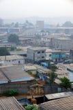 Lever de soleil en Afrique urbaine Images libres de droits