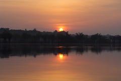Lever de soleil en Amazone Image stock