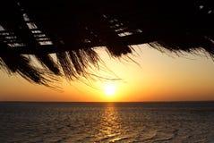 Lever de soleil en Egypte photo libre de droits