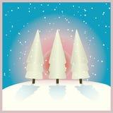 Lever de soleil en hiver Photographie stock libre de droits