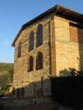 Lever de soleil en Toscane Image libre de droits