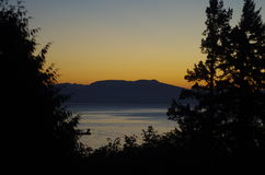 lever de soleil Etats-Unis d'océan de la Floride de destin Image libre de droits