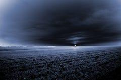 lever de soleil foncé Images libres de droits